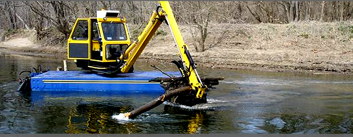 Dredging - Canals - Wetlands Shoreline Restoration