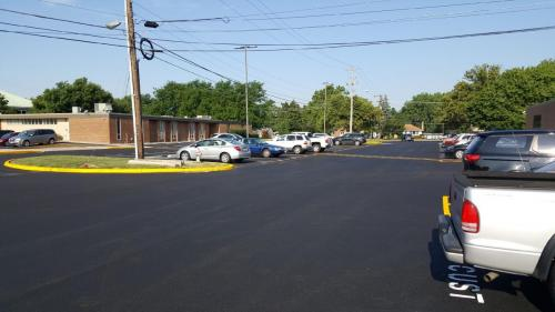 Newly Paved Parking Lot - Neff Paving
